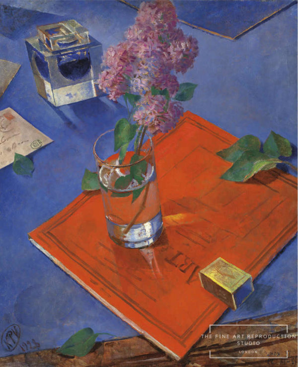 petrov vodkin still life with lilac
