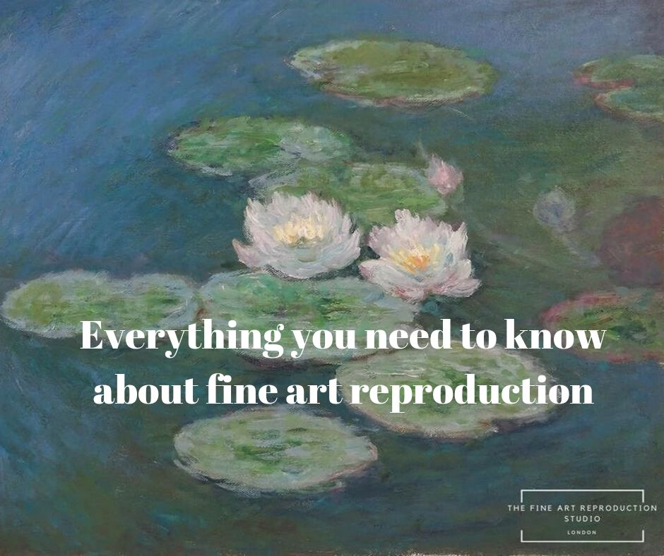 Evertything you need to know about art reproduction